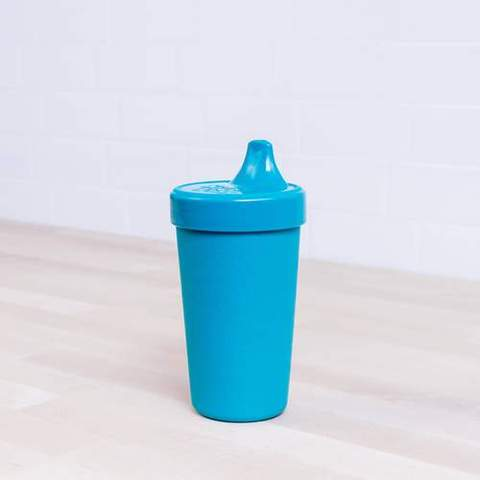 Re-Play Recycled Plastic Sippy Cup in Teal - 296ml