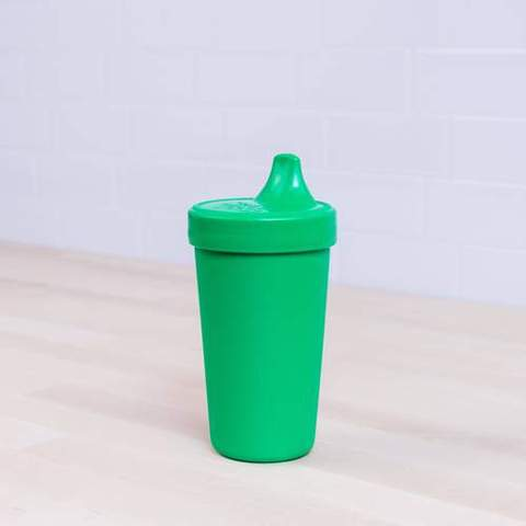 Re-Play Recycled Plastic Sippy Cup in Kelly Green (Dark Green) - 296ml