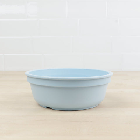 Re-Play Recycled Plastic Bowl in Ice Blue - 13cm (Original Size)