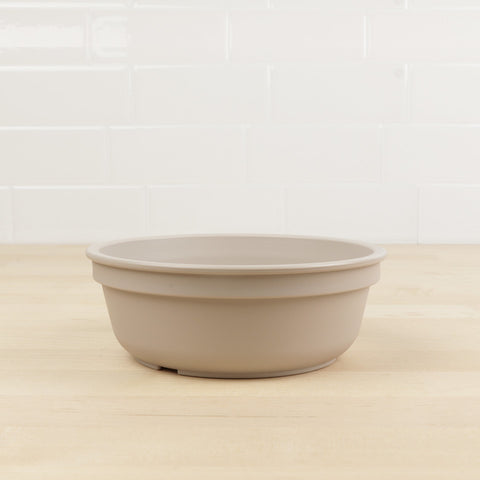 Re-Play Recycled Plastic Bowl in Sand - 13cm (Original Size)