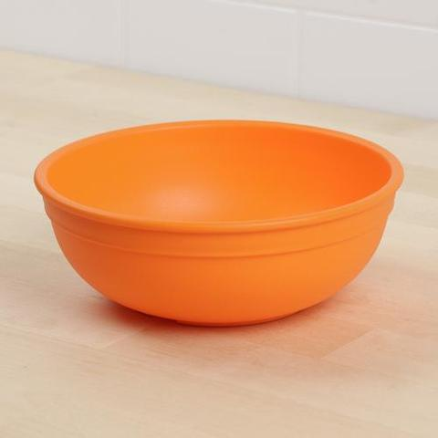 Re-Play Recycled Plastic Bowl in Orange - 14.6cm (Adult Size)