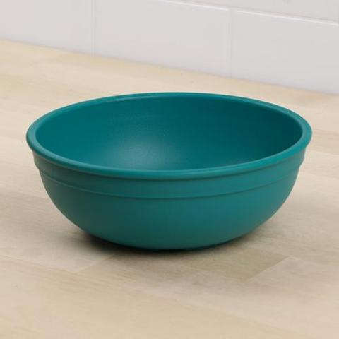 Re-Play Recycled Plastic Bowl in Teal - 14.6cm (Adult Size)