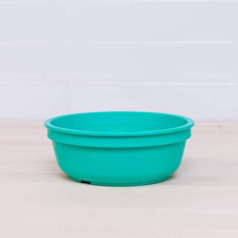Re-Play Recycled Plastic Bowl in Aqua - 13cm (Original Size)