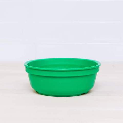 Re-Play Recycled Plastic Bowl in Kelly Green (Dark Green) - 13cm (Original Size)