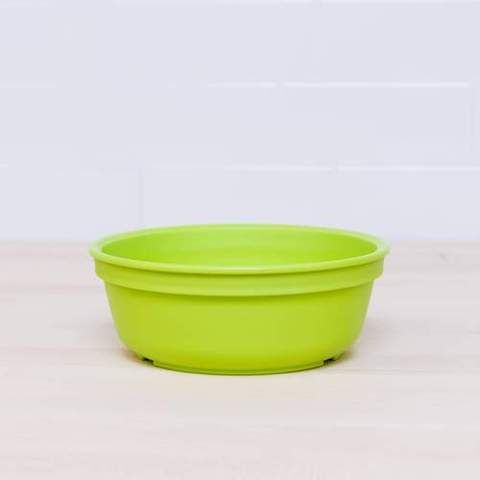 Re-Play Recycled Plastic Bowl in Lime Green - 13cm (Original Size)