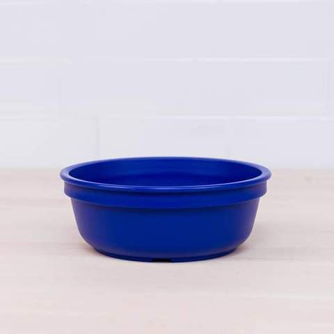 Re-Play Recycled Plastic Bowl in Navy Blue - 13cm (Original Size)