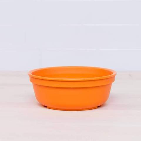 Re-Play Recycled Plastic Bowl in Orange - 13cm (Original Size)