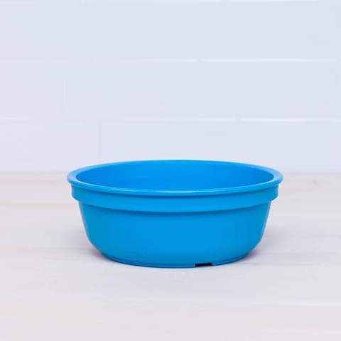 Re-Play Recycled Plastic Bowl in Sky Blue (Light Blue) - 13cm (Original Size)