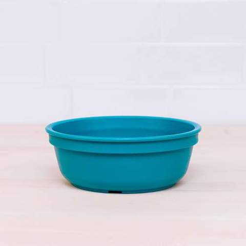 Re-Play Recycled Plastic Bowl in Teal - 13cm (Original Size)