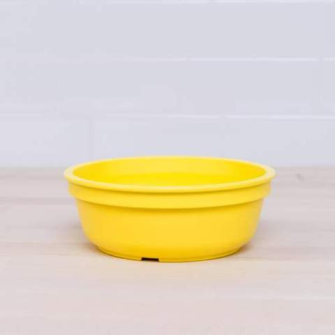 Re-Play Recycled Plastic Bowl in Yellow - 13cm (Original Size)