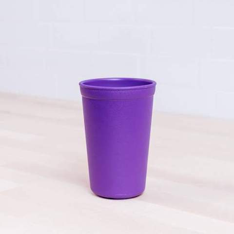 Re-Play Recycled Plastic Tumbler (Cup) in Amethyst (Dark Purple) - 325ml