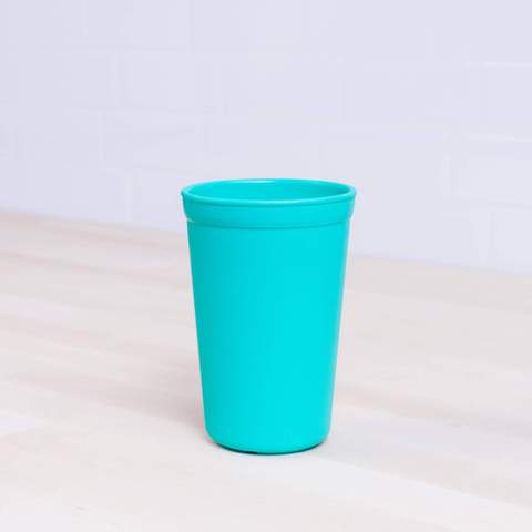 Re-Play Recycled Plastic Tumbler (Cup) in Aqua - 325ml