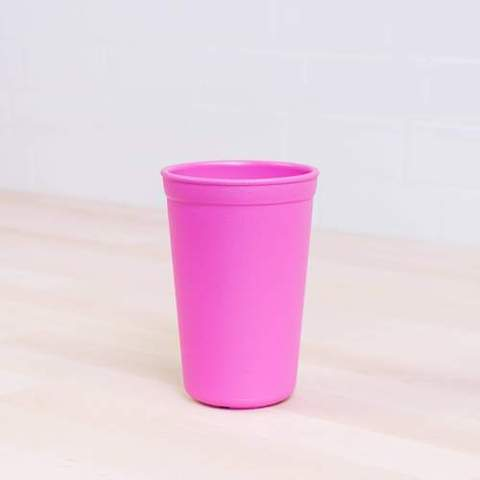 Re-Play Recycled Plastic Tumbler (Cup) in Bright Pink - 325ml