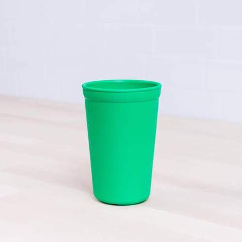 Re-Play Recycled Plastic Tumbler (Cup) in Kelly Green (Dark Green)- 325ml