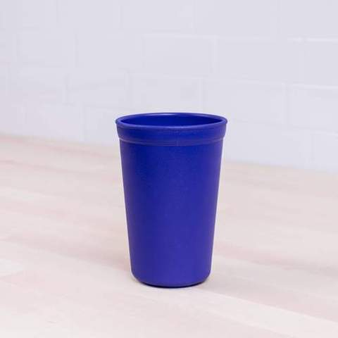 Re-Play Recycled Plastic Tumbler (Cup) in Navy Blue - 325ml