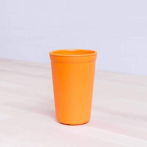 Re-Play Recycled Plastic Tumbler (Cup) in Orange - 325ml