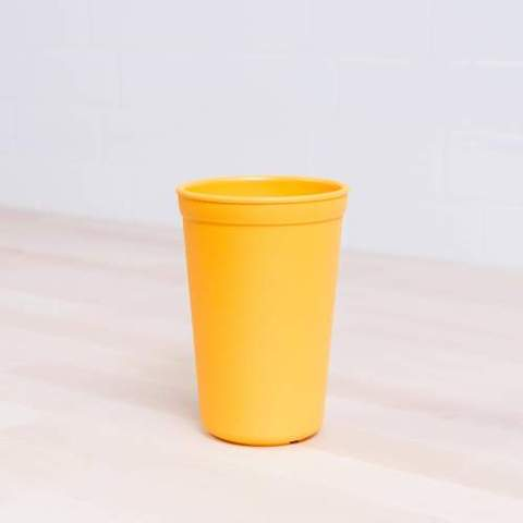 Re-Play Recycled Plastic Tumbler (Cup) in Sunshine Yellow - 325ml