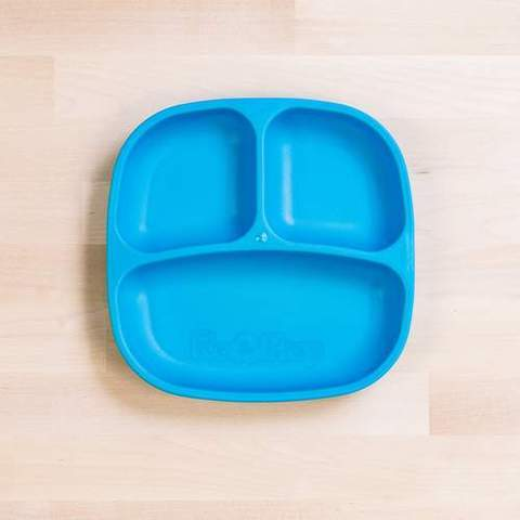 Re-Play Recycled Plastic Dinner Set in Sky Blue