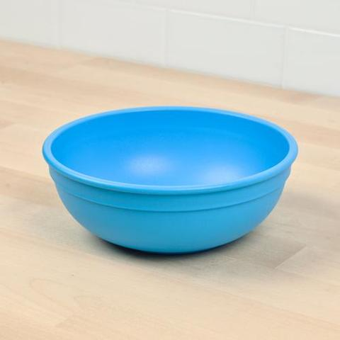 Re-Play Recycled Plastic Bowl in Sky Blue - 14.6cm (Adult Size)