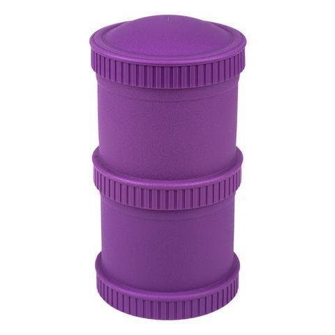 Re-Play Recycled Plastic Snack Stack in Amethyst (Dark Purple)