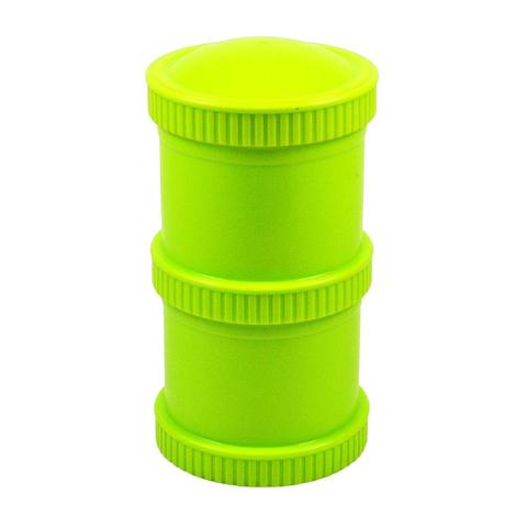 Re-Play Recycled Plastic Snack Stack in Green