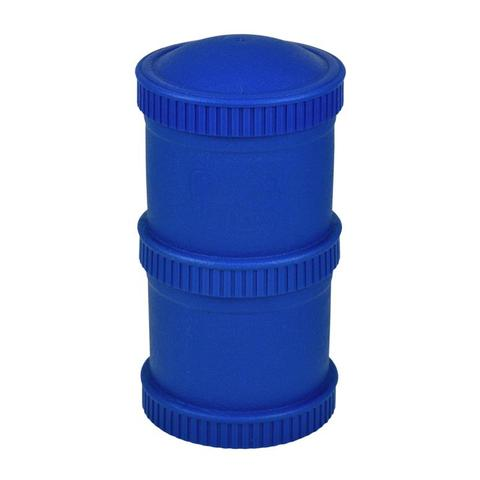 Re-Play Recycled Plastic Snack Stack in Navy Blue