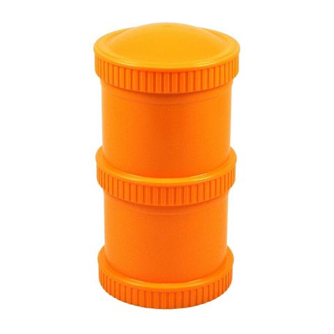 Re-Play Recycled Plastic Snack Stack in Orange