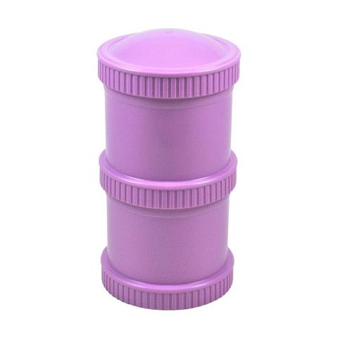 Re-Play Recycled Plastic Snack Stack in Purple