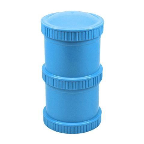 Re-Play Recycled Plastic Snack Stack in Sky Blue