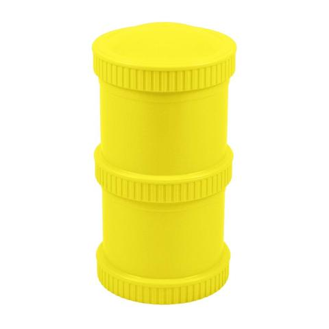Re-Play Recycled Plastic Snack Stack in Yellow