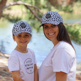 Little Renegade Company Snow Leopard Baseball Cap (Suitable from 4 months old)