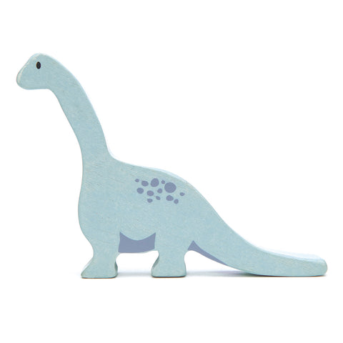 Tender Leaf Toys Wooden Animal - Brontosaurus (Dinosaurs Series)