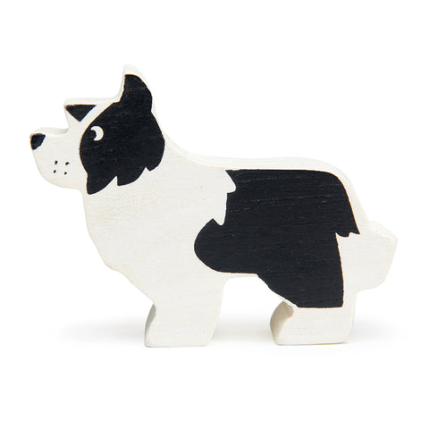 Tender Leaf Toys Wooden Animal - English Shepherd Dog (Farm Series)