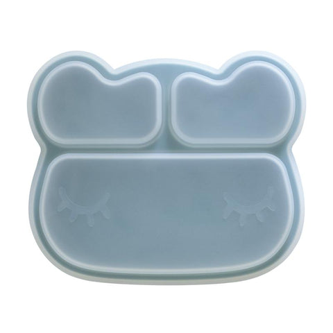 We Might be Tiny Stickie Plate Silicone Lid - Bear Design
