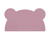 We Might be Tiny Bear Placie - Dusty Rose Pink
