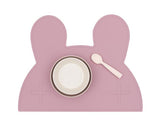 We Might be Tiny Bunny Placie - Dusty Rose Pink