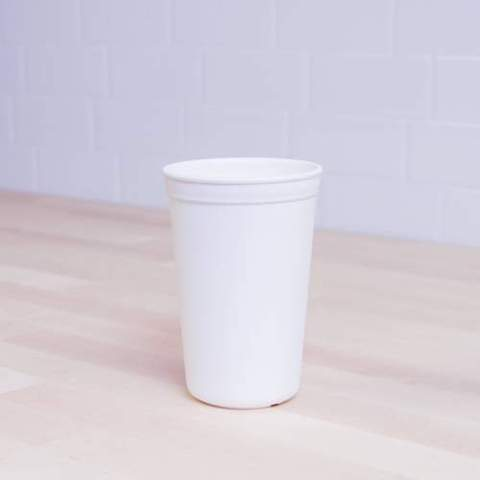 Re-Play Recycled Plastic Tumbler (Cup) in White - 325ml