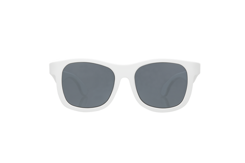 Babiators Navigator Sunglasses in Wicked White (Suitable from Birth until 5 years old)