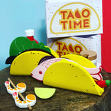 Make me Iconic Wooden Taco Kit