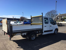 12 Renault Master 3500 Double Cab Alloy Dropside Pick Up
