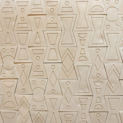 NDEBELE WALL TILE