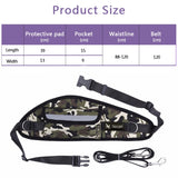 TAILUP Hands Free Leash For Dogs Pet Outdoor Riding Running Harness Quick Release Jogging Leashes