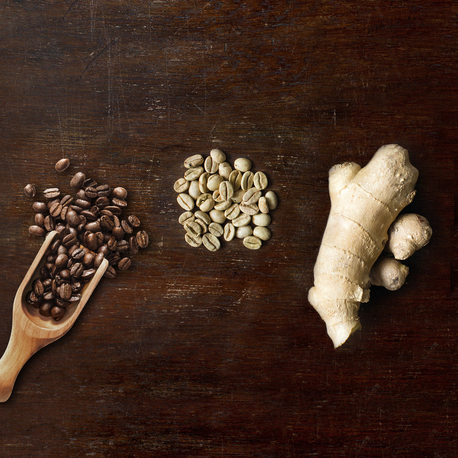 Shape | Arabica Coffee, Green Coffee, Ginger | Organic