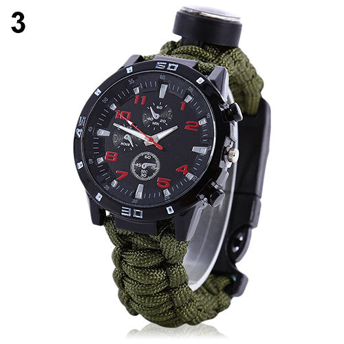 Bluelans - 6 in 1 Survival Watch - Watch  watchalliance.store