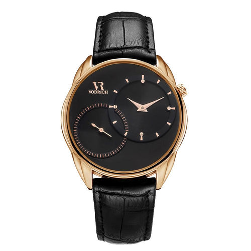 Vodrich - Dual Time Rose Gold