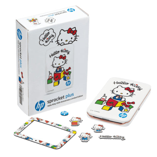 HP SPROCKET PLUS PRINTER WHITE - Hello Kitty 45th Anniversary Limited Edition