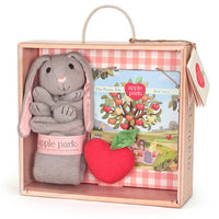 Apple Park Bunny Blankie Gift Set
