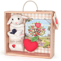 Apple Park Lamby Blankie Gift Set