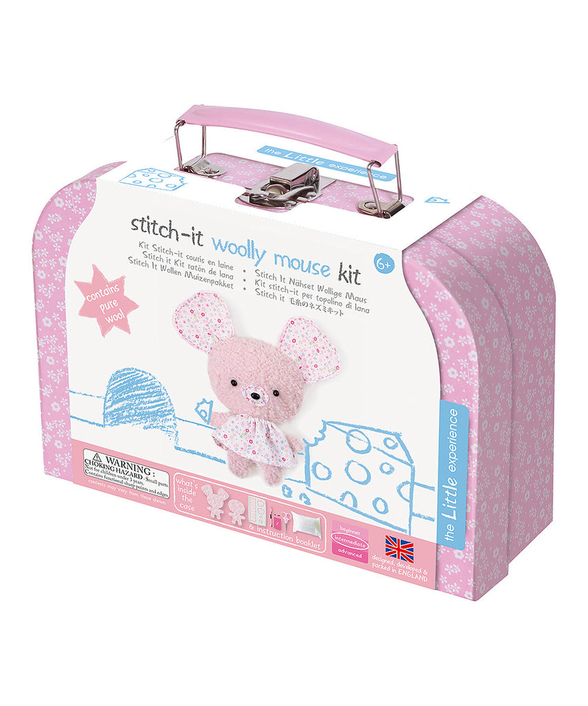 Little Experience Stitch-It Woolly Mouse Kit