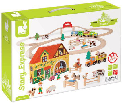 Story Express Farm Track Set